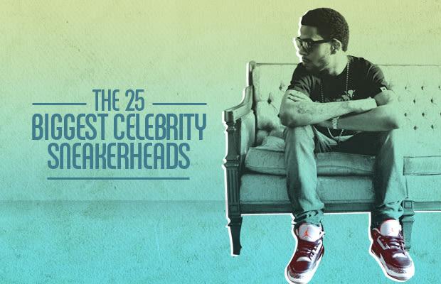 The 25 Biggest Celebrity Sneakerheads   Nice Kicks