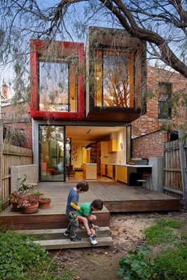 15 Foot Wide Victorian House Gets A Modern Makeover From