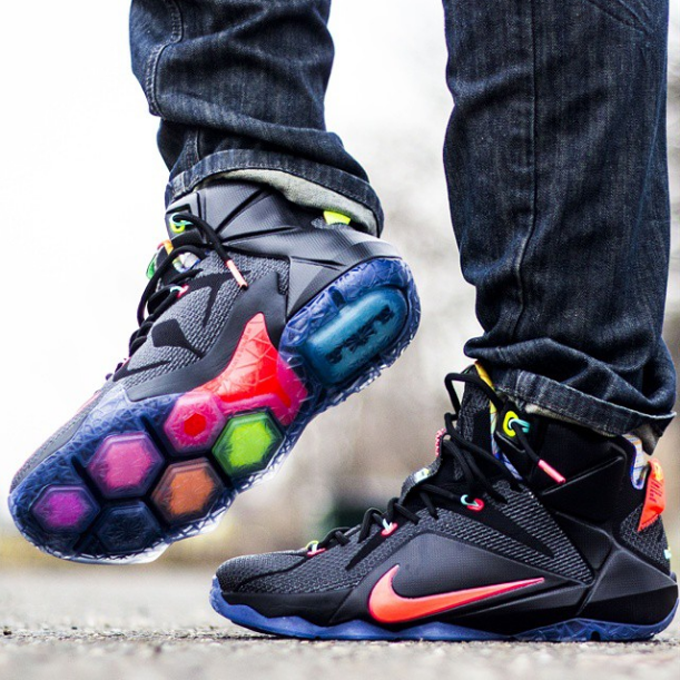 "Nike LeBron 12 ""Data"" - The 25 Best Sneaker Photos on ..."