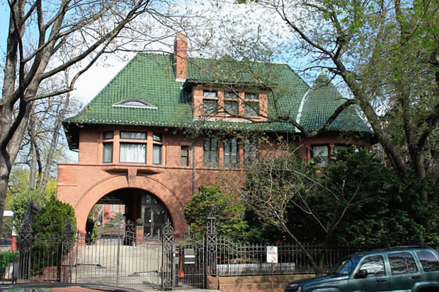 Look up the bishop of brooklyn 39 s house complex for The bishop house