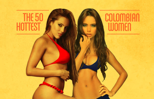 Sexy colombian naked