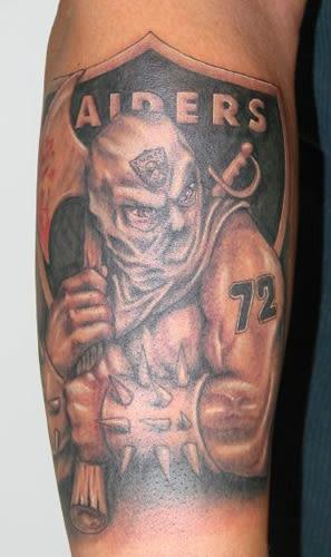 7 the 10 best raider nation tattoos complex for Raider nation tattoos