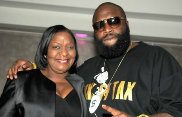 Photo of Rick Ross & his  Mother  Tommie Roberts