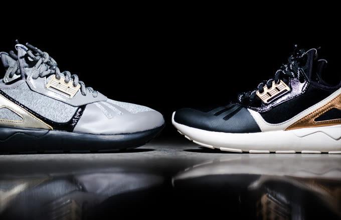 Adidas Tubular Runner Black Gold