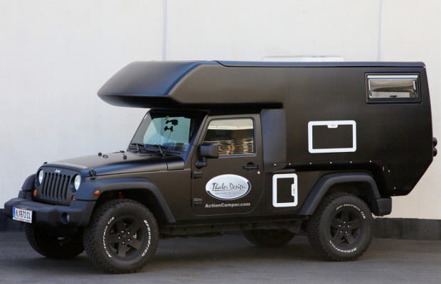 Jeep Wrangler Actioncamper Is An Amazing Off Road Rv Complex