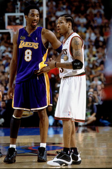 kobe bryant vs allen iverson the 20 most iconic nba on