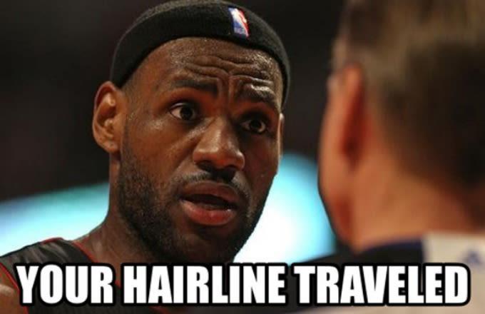 lebron james hairline meme - photo #24
