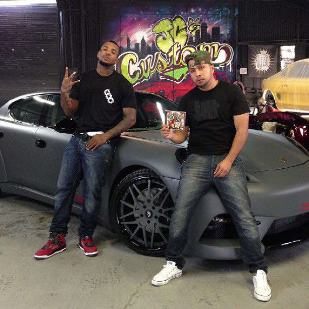 30 Photos Of Rappers Flexing With Giant Car Rims