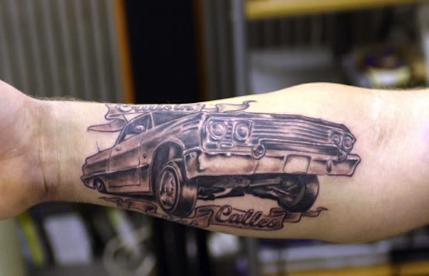 Cadillac Back Tattoo - Gallery: The Most Amazing Cadillac ...