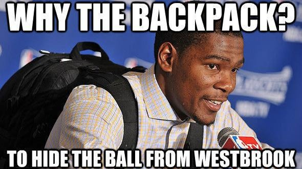 15 Russell Westbrook And Kevin Durant Memes That Will Make ...