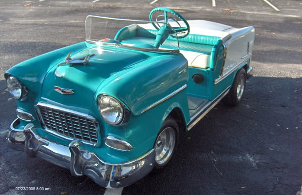1956 Chevrolet Bel Air 25 Crazy Golf Carts Complex