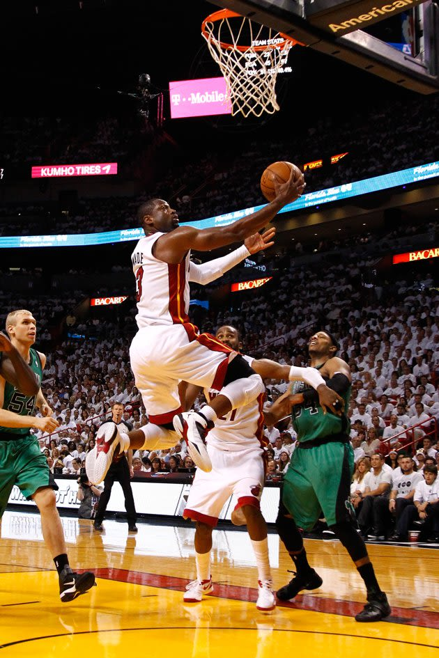 Rajon Rondo, Nike Huarache 2k4 - The 25 Best Sneakers of the 2012 NBA Playoffs | Complex
