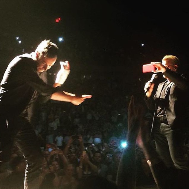 The Roots And Jimmy Fallon Join U2 Onstage At Madison Square Garden Complex