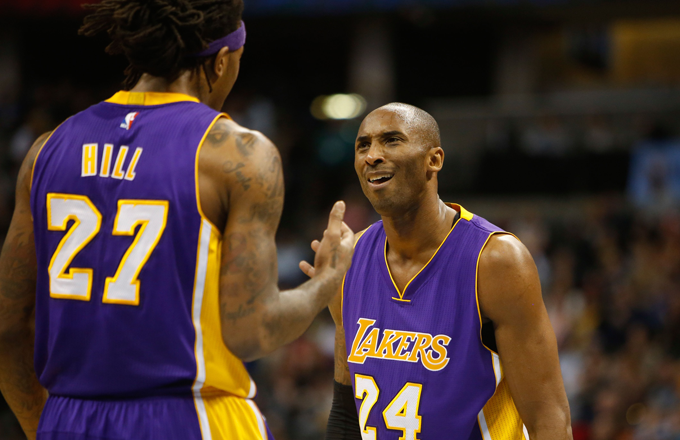 Jordan Hill on Playing for Lakers: