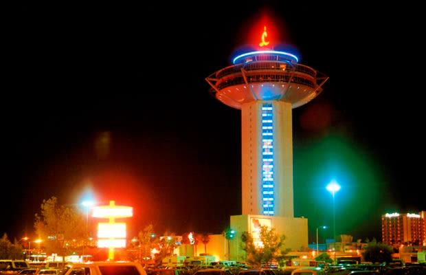 Las Vegas Strip As Destroyed In Mars Attacks