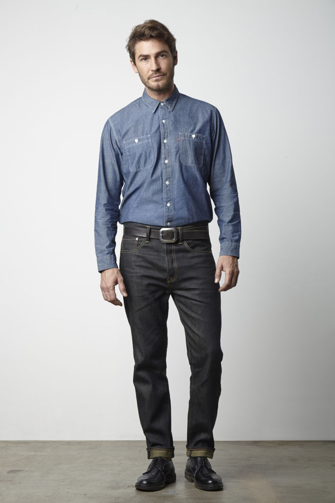 levis launches a customized and tapered version of its