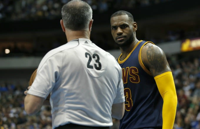 Someone Put Together a Supercut of All the Traveling Calls LeBron James Got Away With During the NBA Playoffs