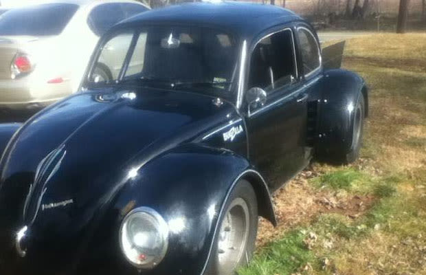 A 1971 VW Beetle with a Corvette Engine Is For Sale on ...