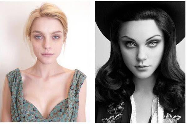 Jessica Stam - Photos of Victoria's Secret Models Without ...  Jessica Stam - ...