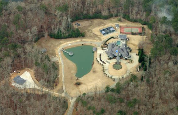 Ludacris villa in Atlanta