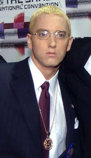 Eminem Blonde Hair 2012 Eminem - blonde ambition: a