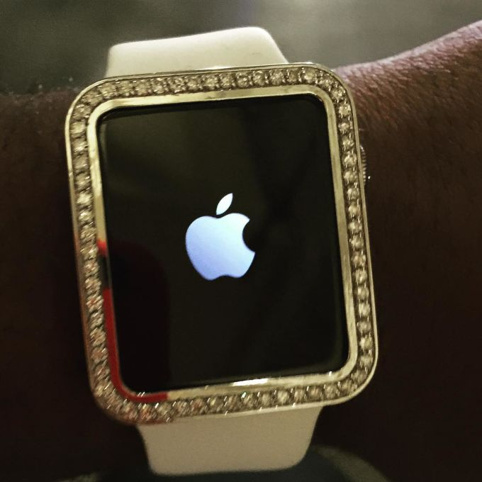 Ludacris Wears Diamond Encrusted Apple Watch To Teen
