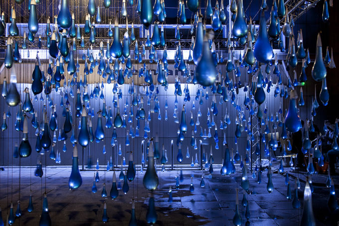 This Art Collective Made A 3 000 Condom Rainstorm To Raise