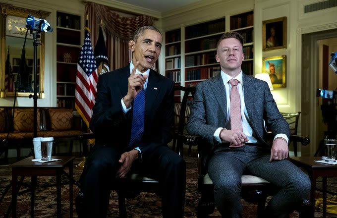 Watch Barack Obama, Macklemore Discuss Opioid Addiction news