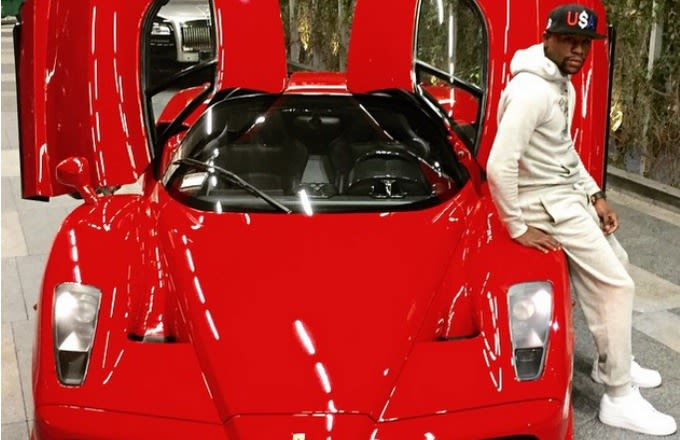 Floyd Mayweather Puts 194 Miles on $3.2 Million Ferrari Enzo, Decides to Sell It for $3.8 Million