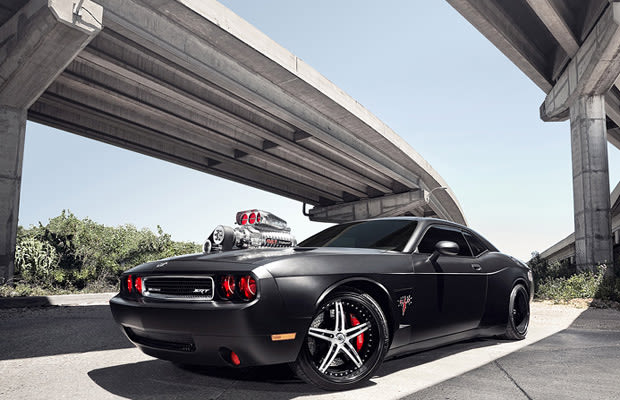 Dodge Challenger Murdered Out 50 Menacing Matte Black