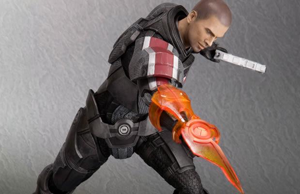 Mass Effect 3 Figures Mass Effect 3 Commander