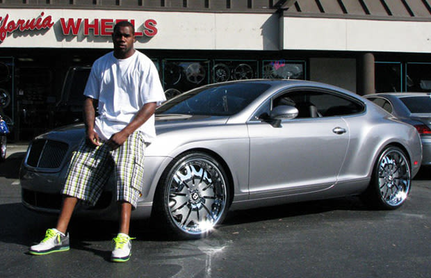 Darren Mcfadden Bentley Gt 32 Nfl Players And Their