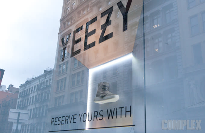Adidas Nyc Store Already Has The Yeezy Boost On Display