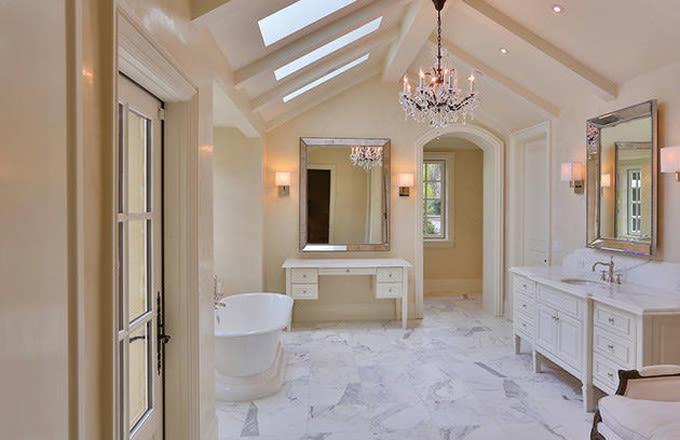 Kim Kardashian House Bathroom