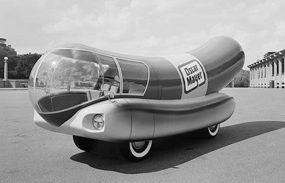 1936 the history of the oscar mayer wienermobile complex. Black Bedroom Furniture Sets. Home Design Ideas