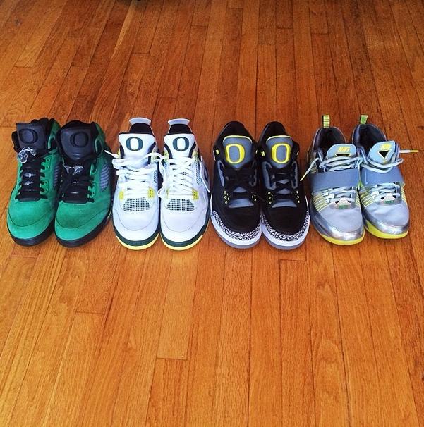 Macklemore Shows Off His Oregon Nike and Air Jordan ...