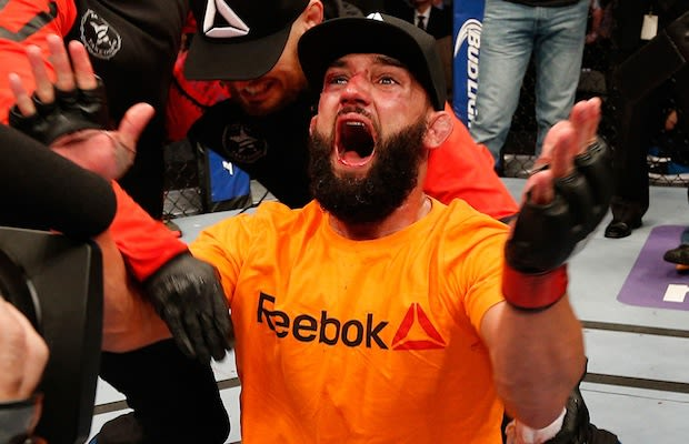d613152d389 The UFC is partnering with Reebok  update  Dethrone chimes in ...