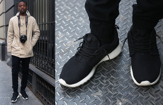 Nike Roshe Run Street Style What Sneakers Nyc Teenagers Are Wearing Complex