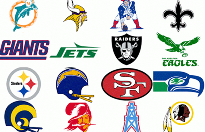 NFL Logo Evolution in One GIF | Complex