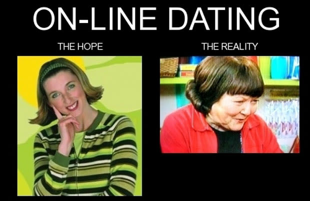 Double standard online dating meme