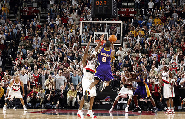 42. Kobe Hits 2 Buzzer-Beaters to Win Pacific Division