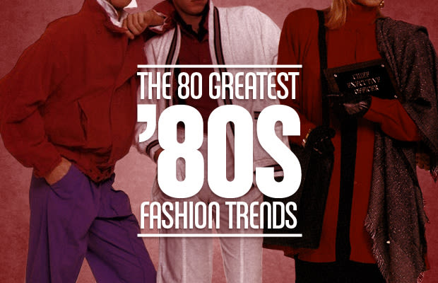 Popular 80s Fashion Trends The Greatest s Fashion