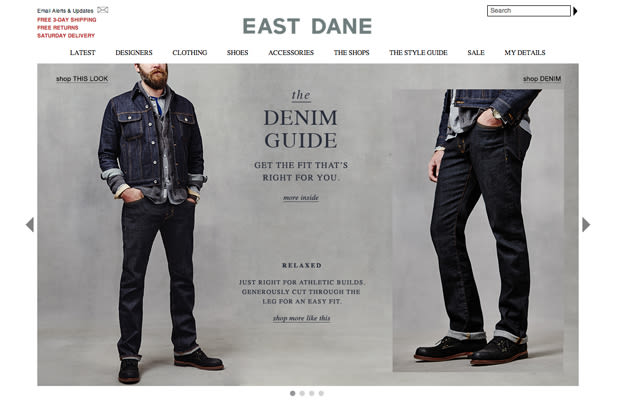Home › Clothing › Men's Clothing › East Dane About East Dane The brother site to ciougrinso.cf, East Dane is a thoughtful, straightforward approach to men's fashion.