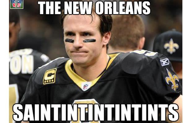 Funniest Sports Memes Of The Week : Drew brees gallery the funniest sports memes of