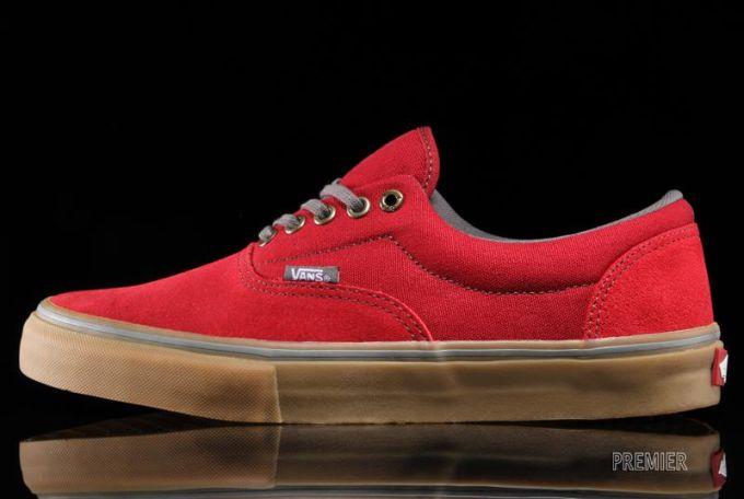 Vans Red Gum Sole