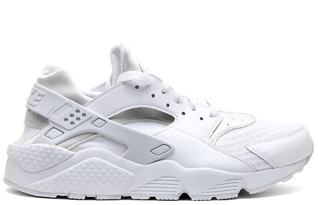 Sneakers 2014 07 New Sneakers At Flight Club Nike Air Huarache All White Nike Air Huarache All White