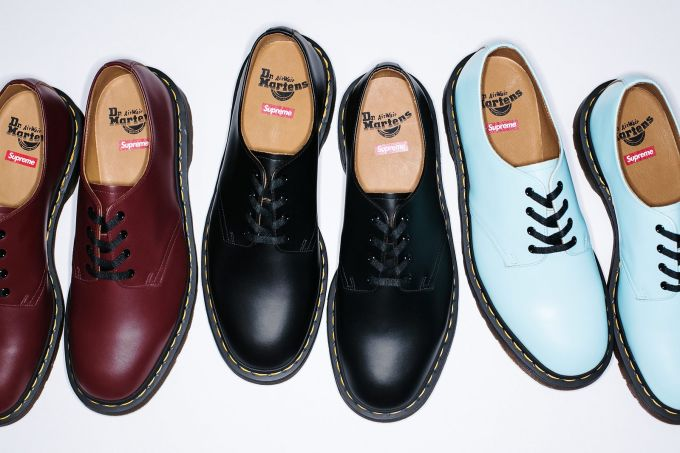 Angelo Baque Dishes on the Supreme x Dr. Martens Footwear Collaboration