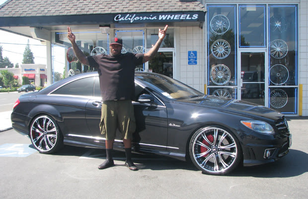 Rolls Royce Golf Cart >> Patrick Willis, Mercedes-Benz CL63 AMG - 32 NFL Players and Their Cars | Complex