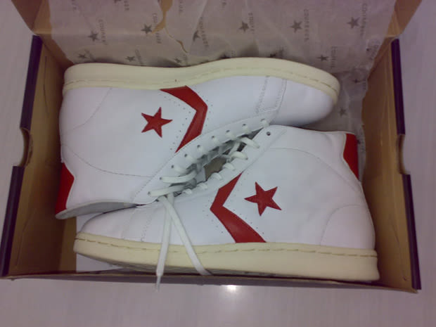 Julius Erving Signed Circa 1976 Game Worn Converse Dr. J All-Star Sneakers (2