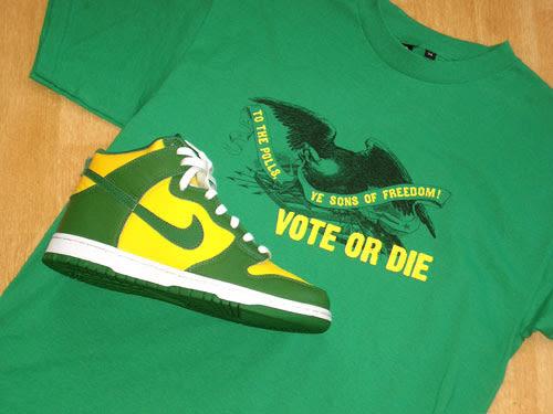 Vote or Die Shirt This Vote or Die Shirt From